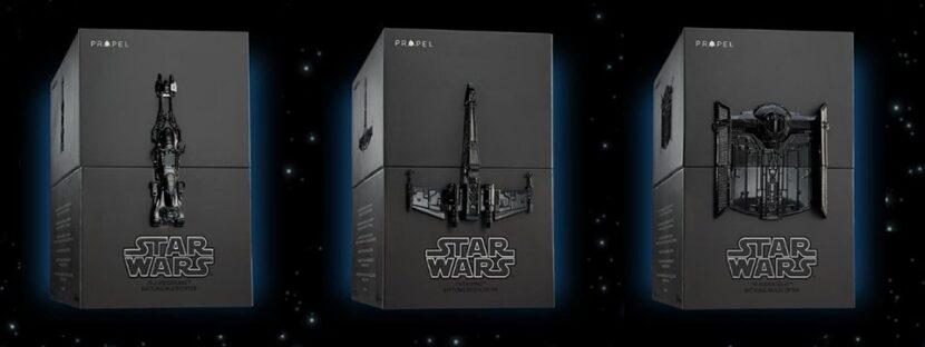 Propel Star Wars TIE X1 Advanced и другие модели по Star Wars