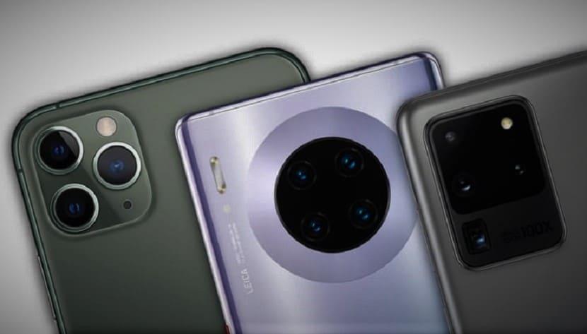 Камеры флагманских смартфонов