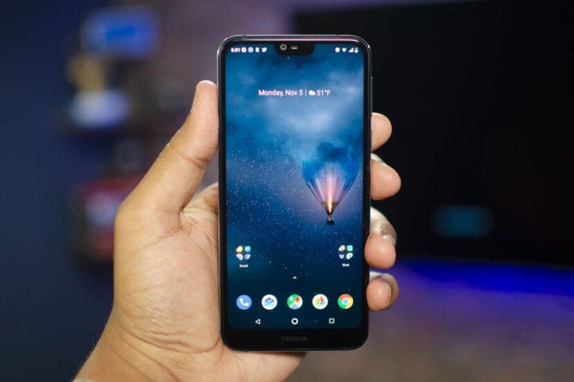 стильный экран смартфона
